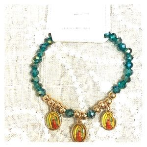 Jewelry - Our Lady of Guadalupe bracelet